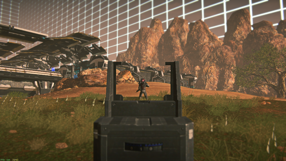 VR Quadrant Area, Planetside 2 New Player Training