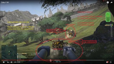 Zeta Unit Vanguard Sunderer VW guide, Planetside 2